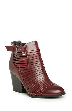 Circus by Sam Edelman Talon Booties in Wine