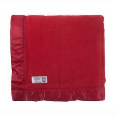 Duchess Merino Wool Blanket   John Atkinsons Finest Merino Lambswool Blanket with Traditional Wide Satin Trim Bindings