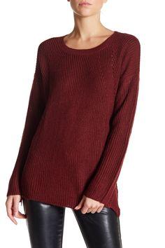 Ribbed Long Sleeve Sweater