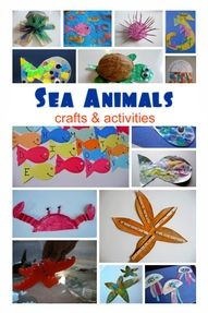 Sea Animals Crafts & Activities