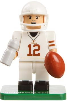 Football Player Colt McCoy is a Campus Legend and now available for pocket size fun with this Colt McCoy OYO Mini Figure Football Player. Buy Today!