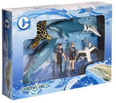 Dolphin Tale 2 Movable Action Playset