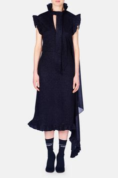 Vetements — Sparkle Dress - Black
