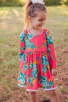 Poppy Petals Dress