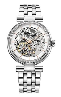 Kenneth Cole New York Womens KC4996 Automatic Analog Display Japanese Automatic Silver Watch -- Click image to review more details.Note:It is affiliate link to Amazon.