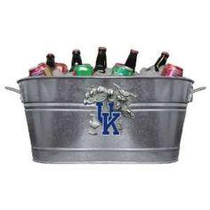 Kentucky Wildcats Beverage Tub/Planter: Sports & Outdoors