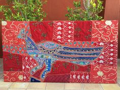 Indian tapestries frame