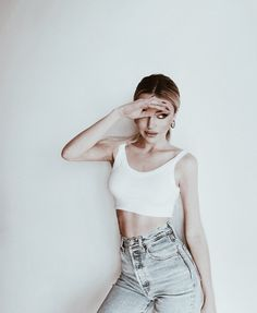 How To Pose, Poses, Crop Tops, Fashion, Figure Poses, Moda, Fashion Styles, Fashion Illustrations, Cropped Tops