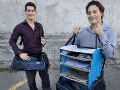 Risegear : Le sac qui se transforme en penderie | NeozOne http://www.neozone.org/videos/risegear-le-sac-qui-se-transforme-en-penderie/