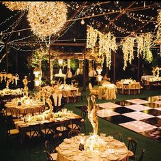 Light up your wedding night with suspended lights, sparkling strands, fairylights and lots and lots of candles! Feels like MAGIC ✨ Good Night  #SoSBrideS