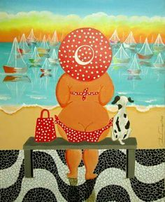 Nicky Corker Dot Painting, Stone Painting, Mermaid Song, Beach Quilt, Plus Size Art, Outdoor Paint, Caillou, Arte Pop, Whimsical Art