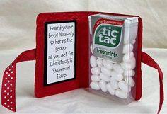 Super cute Christmas gift idea.
