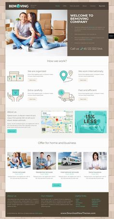 BeTheme is a clean, stylish and modern design responsive multipurpose WordPress theme that helps you build any type of website in a few hours. It comes with 500+ pre-built niche homepage layouts. Save time and money to download now & live preview click on image 👆 Moving Movingtips Movingwebsitedesign Movingwebsitetheme mover logistics cargo delivery transportation websitedesign websitetemplate websitelayout uidesign uxdesign