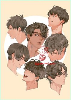 Drawing Tips Couple Hair Reference, Drawing Reference Poses, Drawing Poses, Manga Drawing, Anatomy Reference, Digital Painting Tutorials, Digital Art Tutorial, Art Tutorials, Pretty Art
