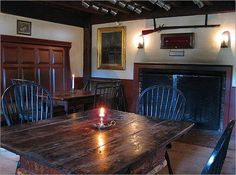 Take a tour of the Massachusetts Tavern Trail -- where the Revolutionary War heroes drank.