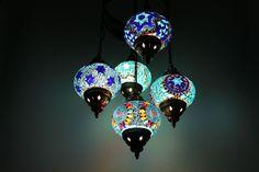 Turkish Style Mosaic Hanging Lamp Light Hand Made Ceiling Light