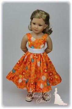 American Girl Dress, American Doll Clothes, American Girls, My Life Doll Clothes, Ag Clothing, Lifelike Dolls, Sleeveless Dresses, Vinyl Dolls, Cat Doll