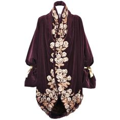 Iconic Romeo Gigli Orientalist Cocoon Coat at 1stdibs ❤ liked on Polyvore