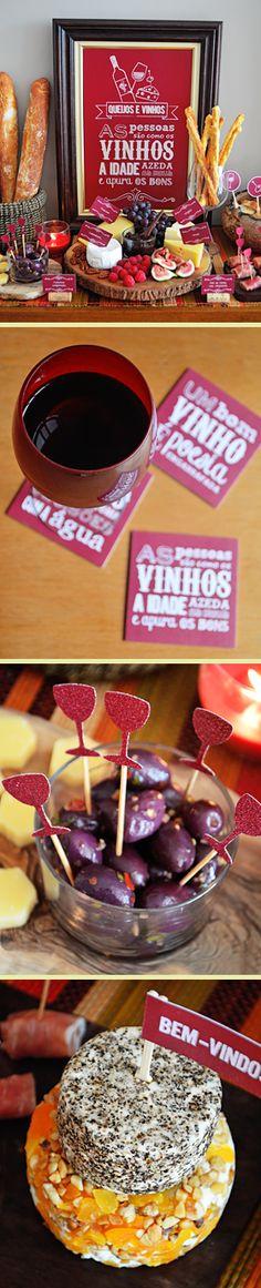 Degustação de Queijos & Vinhos de Outono