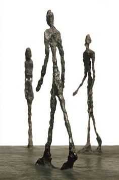 Swiss Sculptor Alberto Giacometti and his Surreal sculptures that depict a mood… Alberto Giacometti, Plaster Sculpture, Art Sculpture, Wire Sculptures, Sculpture Projects, Art Projects, Imagination Tree, 3d Figures, Human Figures