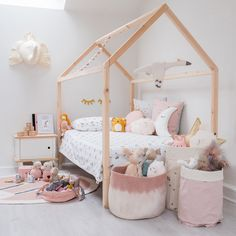 Children's House Bed Junior and Single Size by Norwood, available at Bobby Rabbit.