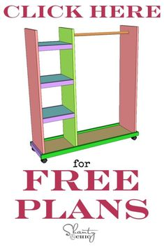 Free Woodworking Plans - DIY Dress Up Cart - Shanty 2 Chic diy for beginners plans tips tools Kids Woodworking Projects, Woodworking Plans Pdf, Woodworking Furniture Plans, Woodworking Skills, Wood Projects, Diy Furniture, Woodworking Store, Woodworking Jigsaw, Woodworking Apron