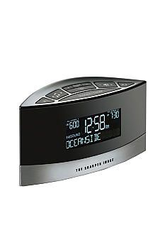 Sharper Image Sound Soother Alarm Clock- 20 relaxing sounds. Just bought this!