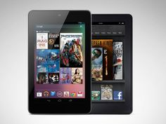 Google Nexus 7 vs Kindle Fire – Face Off