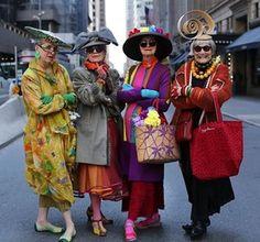 Les Originales, so daring in their fabulousness ! #fashion