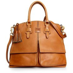 Best handbag ever! Dooney & Bourke Handbag, Florentine Clayton Satchel #dooneyandbourke #claytonsatchel