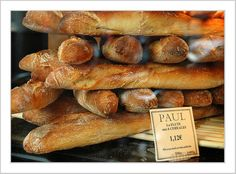 Paul boulangerie et pâtisserie .PAUL, my favorite bakery! Croissants, Our Daily Bread, Pan Bread, Bakery Cafe, How To Make Bread, Bread Making, Food For Thought, Love Food, Bread Recipes