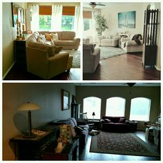 Coastal living room update