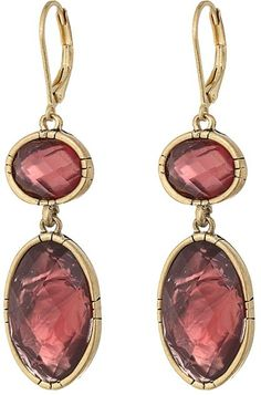 The Sak Double Stone Drop Earrings | ZAPPOS saved by #ShoppingIS