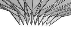 Start To Finish: Grasshopper Rhino Diamond Ceiling like yokohama Terminal