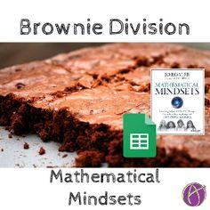 jo boaler mathematical mindsets brownie division
