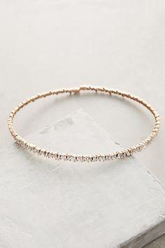 3ct White Diamond Choker in 18k Gold - anthropologie.com