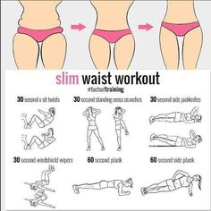 "122 Likes, 3 Comments - FemaleFitBody (@femalefitbody) on Instagram: ""Slim WAIST workout #workout #home #exercises #fitness #women #slim #waist #dothis #results #plan…"""