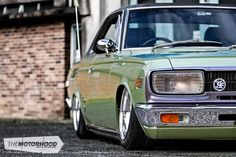 A sublime, slammed '69 Toyota Crown — The Motorhood