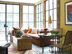Sunroom // Carter Kay Interiors // Atlanta, GA // iron windows