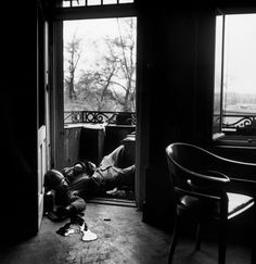 Robert Capa April 18, 1945 Germany Leipzig. American soldier killed by a German sniper.