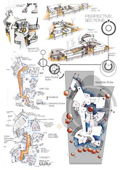 Undergrad Architecture Projects by Anique Azhar, via Behance