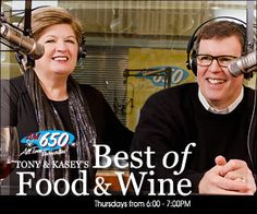 """Interview with Richard Parsons for the Tony & Kasey Radio Show """"Best in Food & Wine"""""""