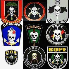 #OPESP #COMANF #BOPE #CAVEIRAS #COE