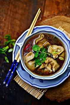 Wan Tan, Asian Recipes, Ethnic Recipes, Food And Drink, Cooking Recipes, Vegan, Dinner, Baking, Dom