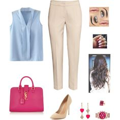Untitled #573 by azra-99 on Polyvore featuring polyvore, fashion, style, H&M, Maiden Lane, Yves Saint Laurent and Betsey Johnson