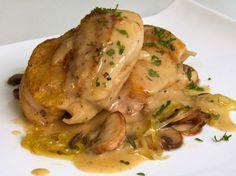 Pollo a la cerveza. www.elpetitchef.com