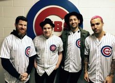 That winning moment when you can guess which era this fob pic is from Pete's hair color.