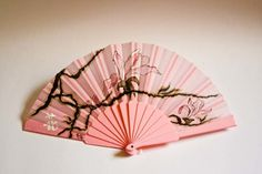 Abanicos pintados a mano   Magnolias Antique Fans, Vintage Fans, Hand Held Fan, Hand Fans, Tamara, Chinese Fans, Hand Accessories, Kawaii Clothes, Floral Embroidery