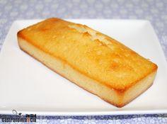 Bizcocho de limón con nata