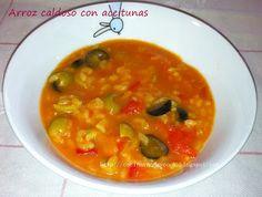 Cocinar con MyCook: ARROZ CALDOSO CON ACEITUNAS